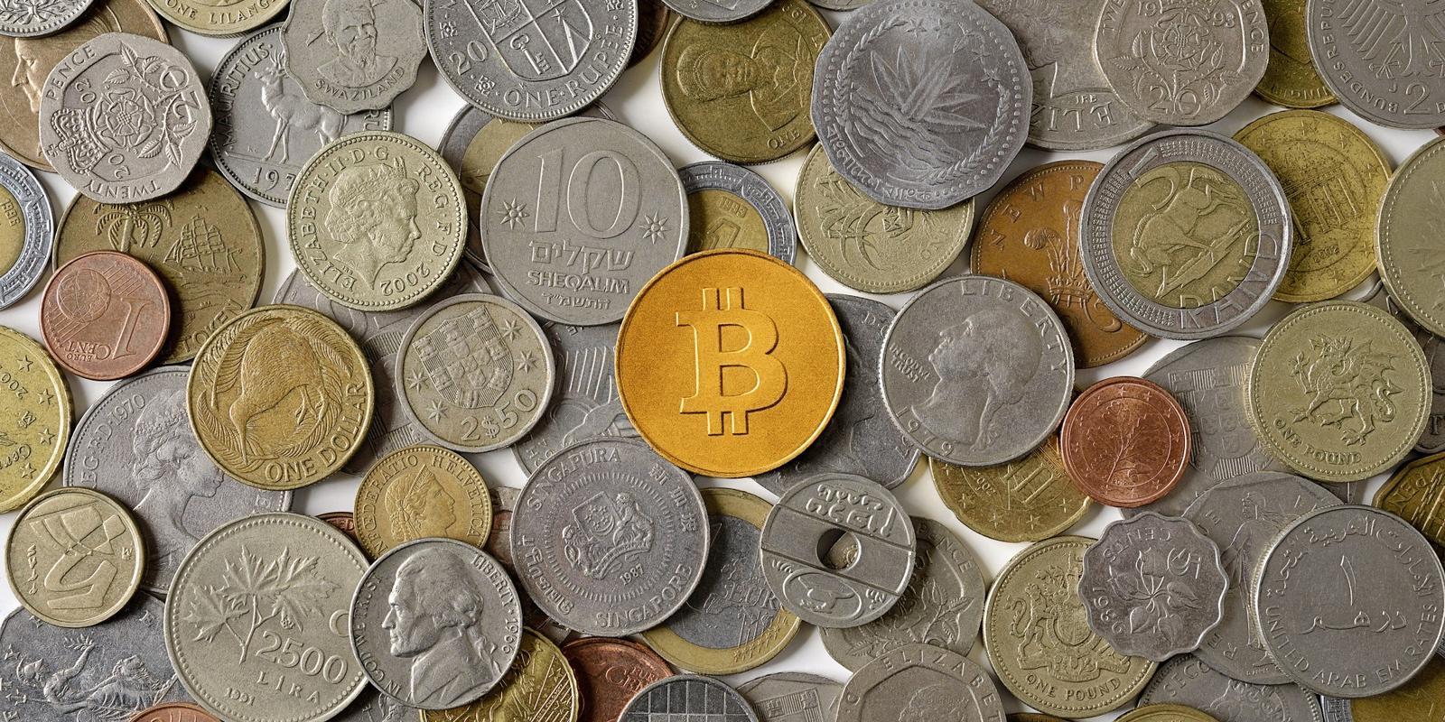 График количества биткоинов в обращении